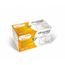 Igły do penów insulinowych Droplet 32G 0,23 x 5mm 100 sztuk