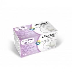 Igły do penów insulinowych Droplet 32G 0,23 x 6mm 100 sztuk