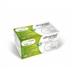 Igły do penów insulinowych Droplet 32G 0,23 x 4mm 100 sztuk