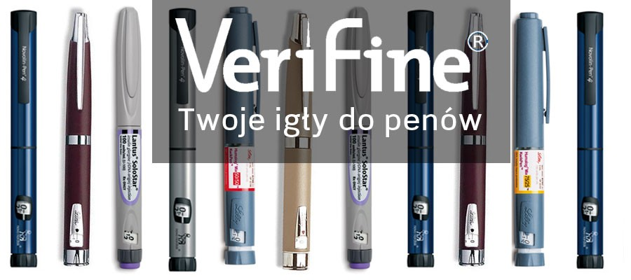 VeriFine- igły do penów insulinowych, produkty dla diabetyków